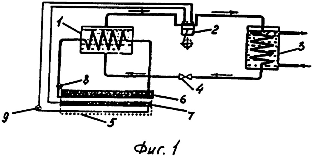 Теплонасосная установка для отопления и горячего водоснабжения