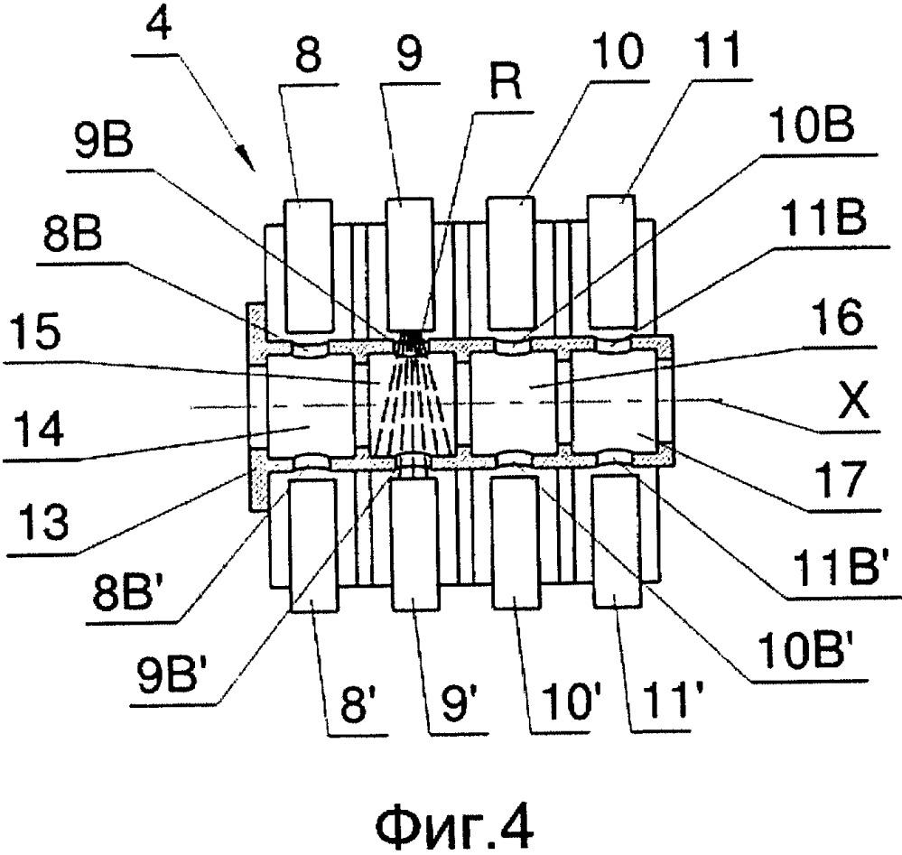 Защитный элемент для стержнеобразных элементов, в частности секций стержня и/или бесконечного стержня, перемещающихся в измерительной головке, используемой в табачной промышленности, и соответствующая измерительная головка