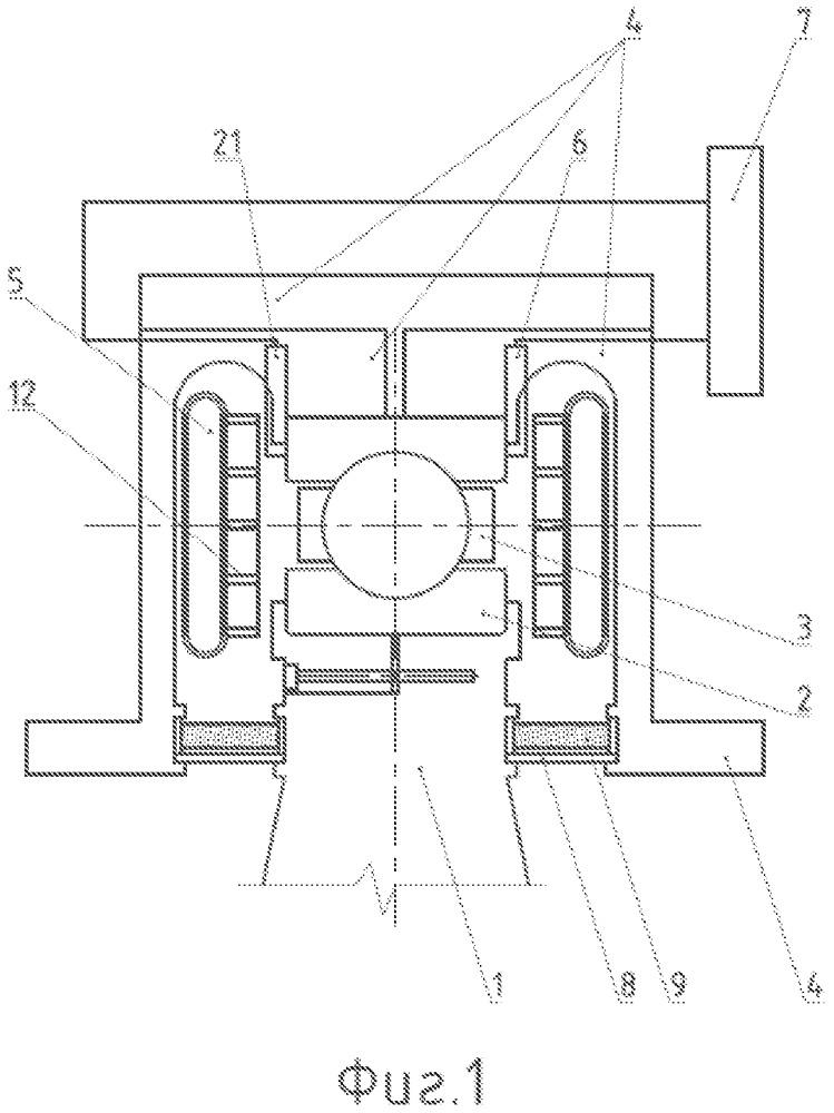 Система охлаждения подшипников турбин газотурбинного двигателя