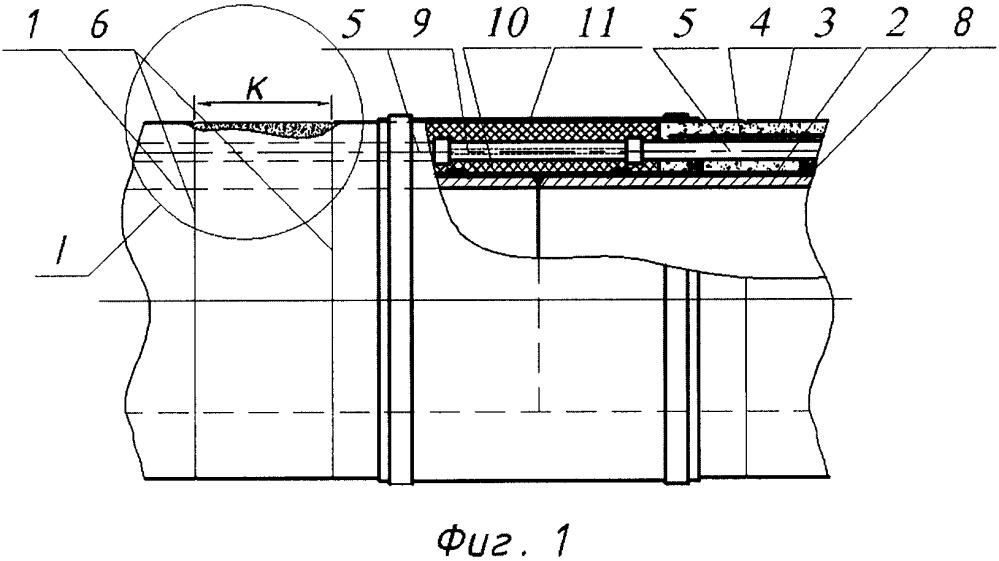 Способ изготовления трубы с кабель-каналом и сплошным бетонным покрытием и труба с кабель-каналом (варианты)
