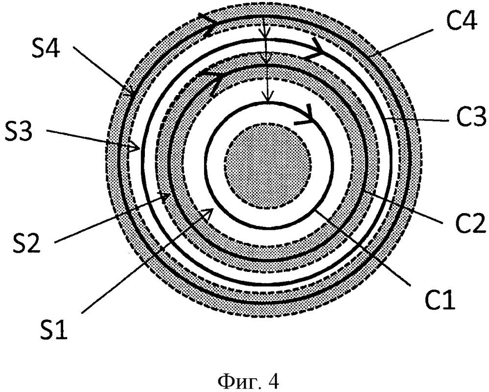 Способ и устройство измерения загрязняющих веществ, содержащихся в выхлопе двигателя