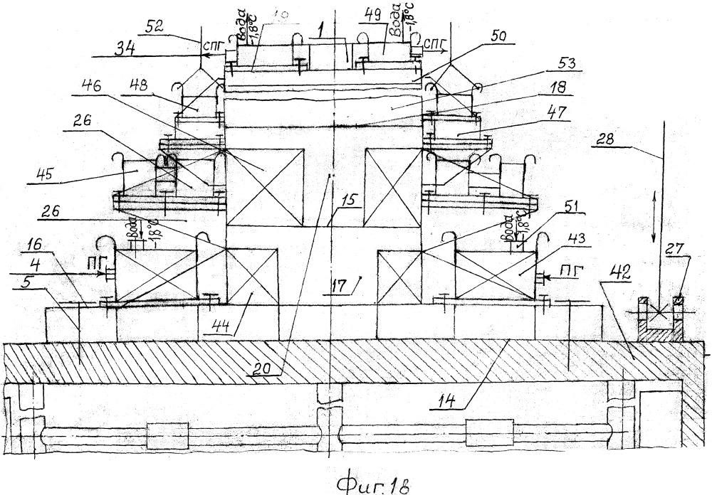 Способ установки подледно-подводных заводов сжиженного природного газа (спг) абрамова в.а.