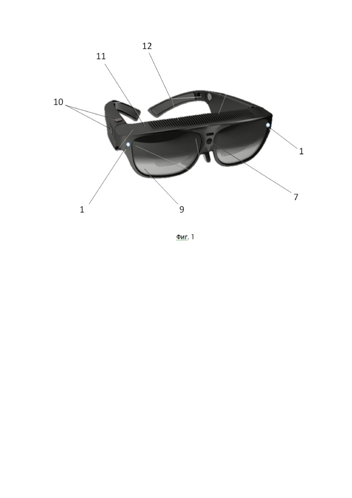 Визуально-звуковая система для слепых и слабовидящих людей