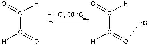 Способ получения концентрированных водных растворов глиоксалевой кислоты