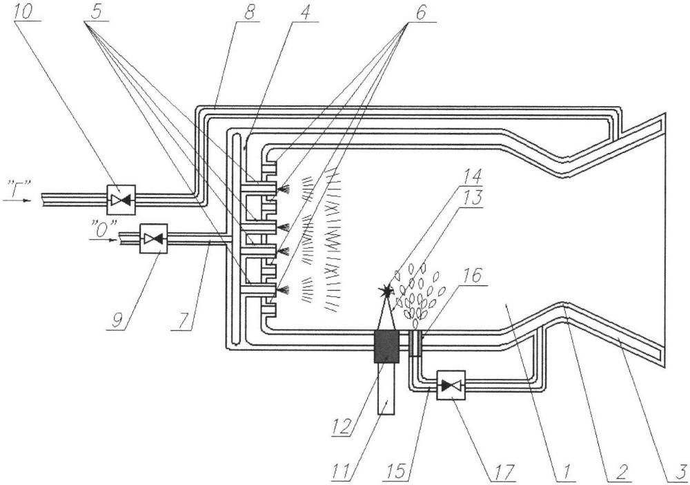 Способ запуска камеры жидкостного ракетного двигателя или газогенератора с лазерным воспламенением топлива и устройство для его осуществления