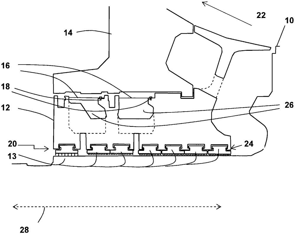 Сальниковое устройство паровой турбины