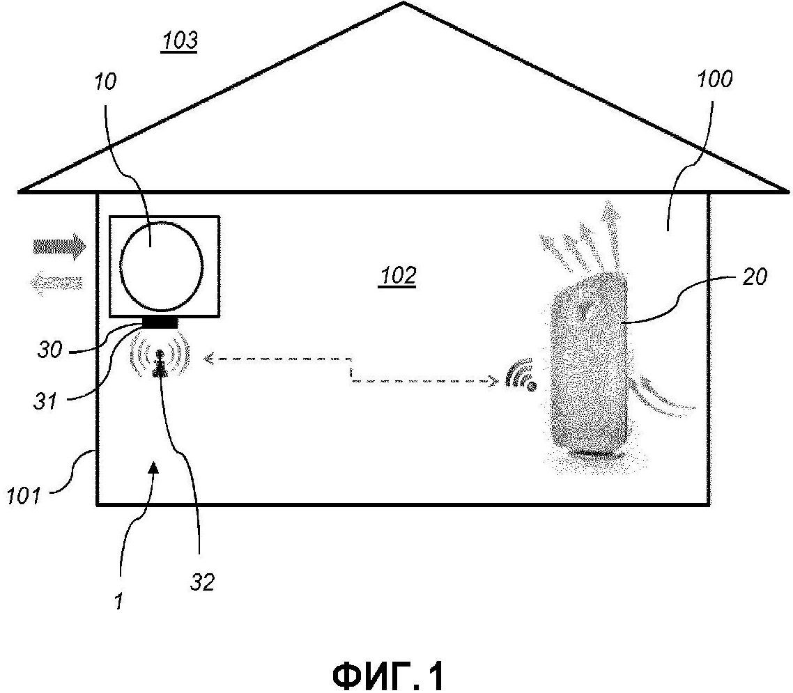 Устройство и способ управления качеством воздуха в помещении