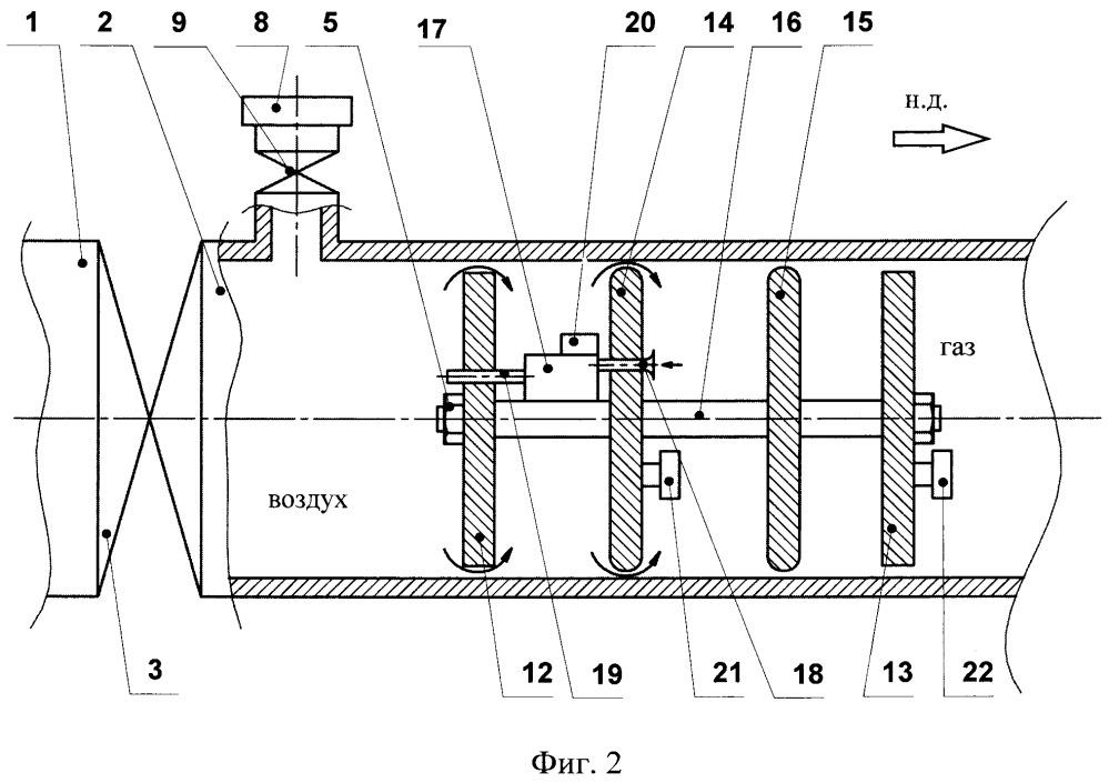 Способ вытеснения газа из выводимого в ремонт участка магистрального газопровода и система для его осуществления