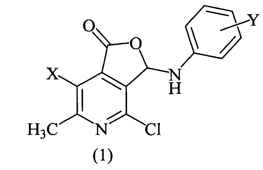 Способ получения производных фуро[3,4-c]пиридин-1(3h)-онов