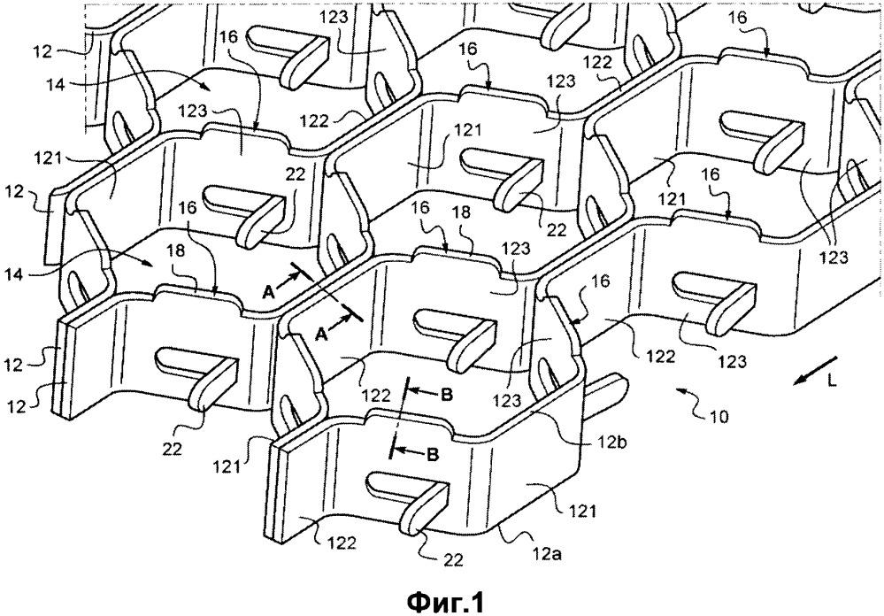 Элемент для анкерного крепления противоэрозионного покрытия к внутренней стенке камеры установки флюид-каталитического крекинга