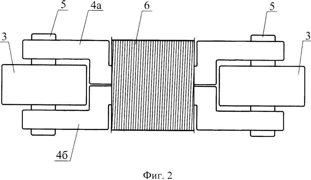 Магнитная система сканера-дефектоскопа