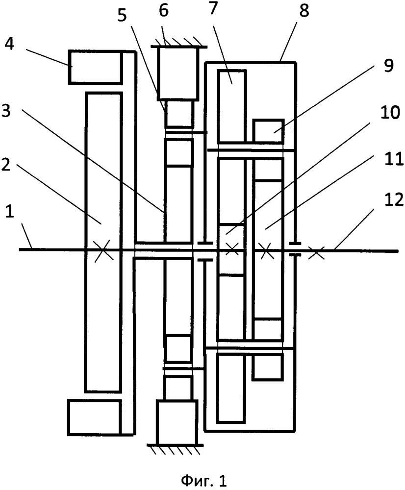 Механизм для управления крутящим моментом и оборотами синхронного электродвигателя