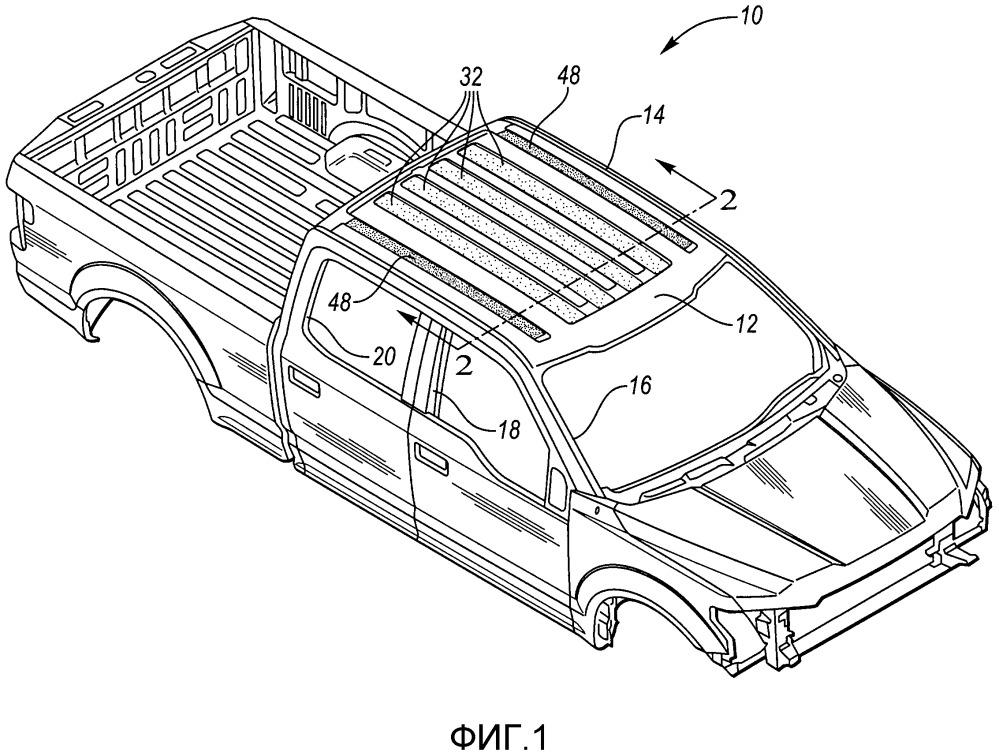 Панель крыши транспортного средства (варианты) и конструкция крыши транспортного средства