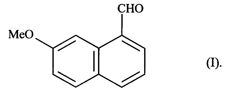 Новый способ синтеза 7-метокси-нафталин-1-карбальдегида и его применение в синтезе агомелатина