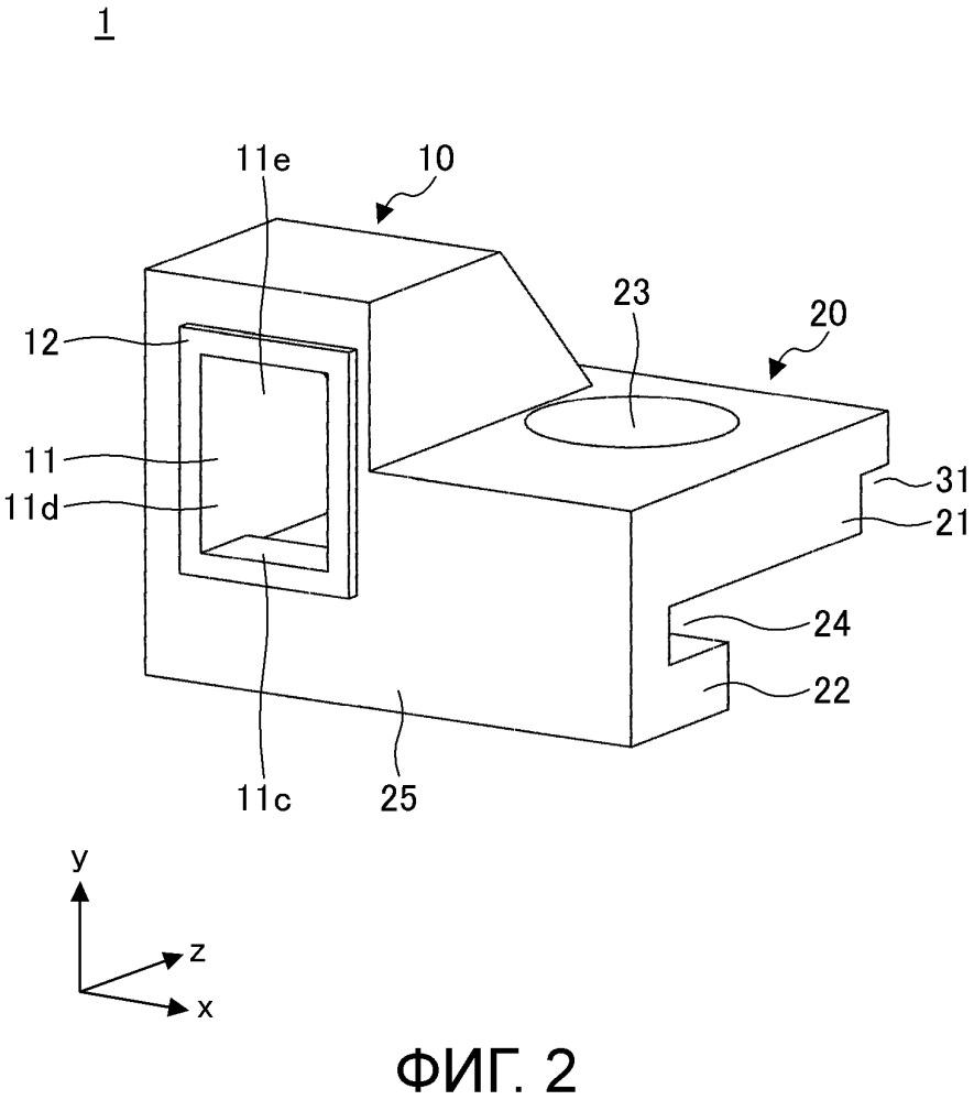 Структура излучения света и устройство со структурой излучения света