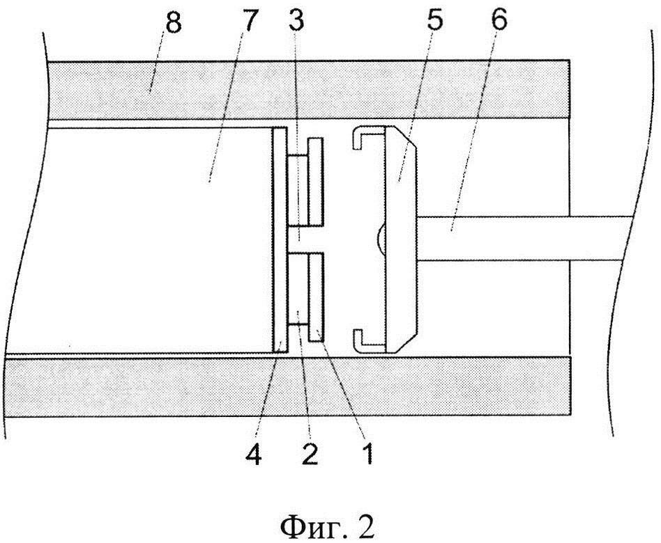 Приспособление для извлечения зонда гнб, интегрированное с крышкой батарейного отсека