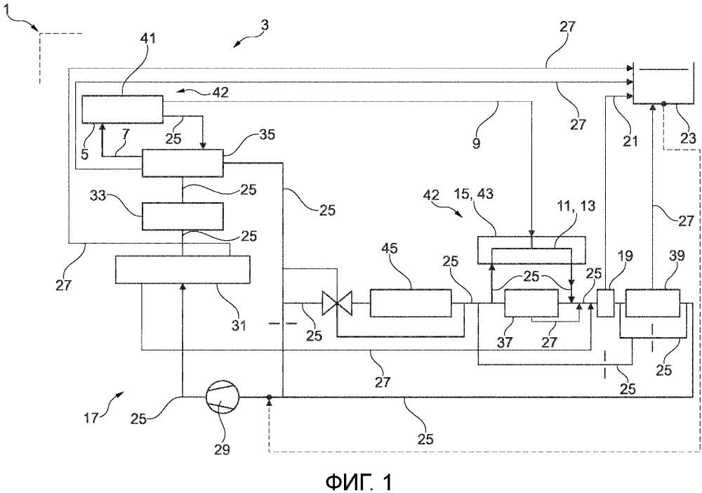 Система охлаждения и двигатель внутреннего сгорания с такой системой охлаждения