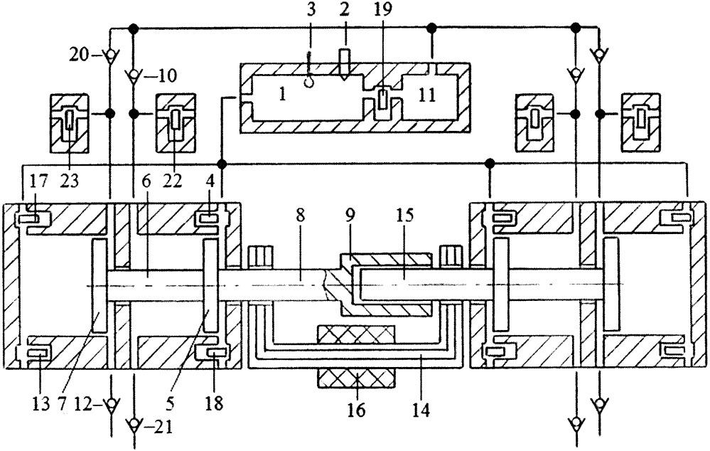 Способ управления давлением воздуха в пневмоаккумуляторе свободнопоршневого энергомодуля с внешней камерой сгорания