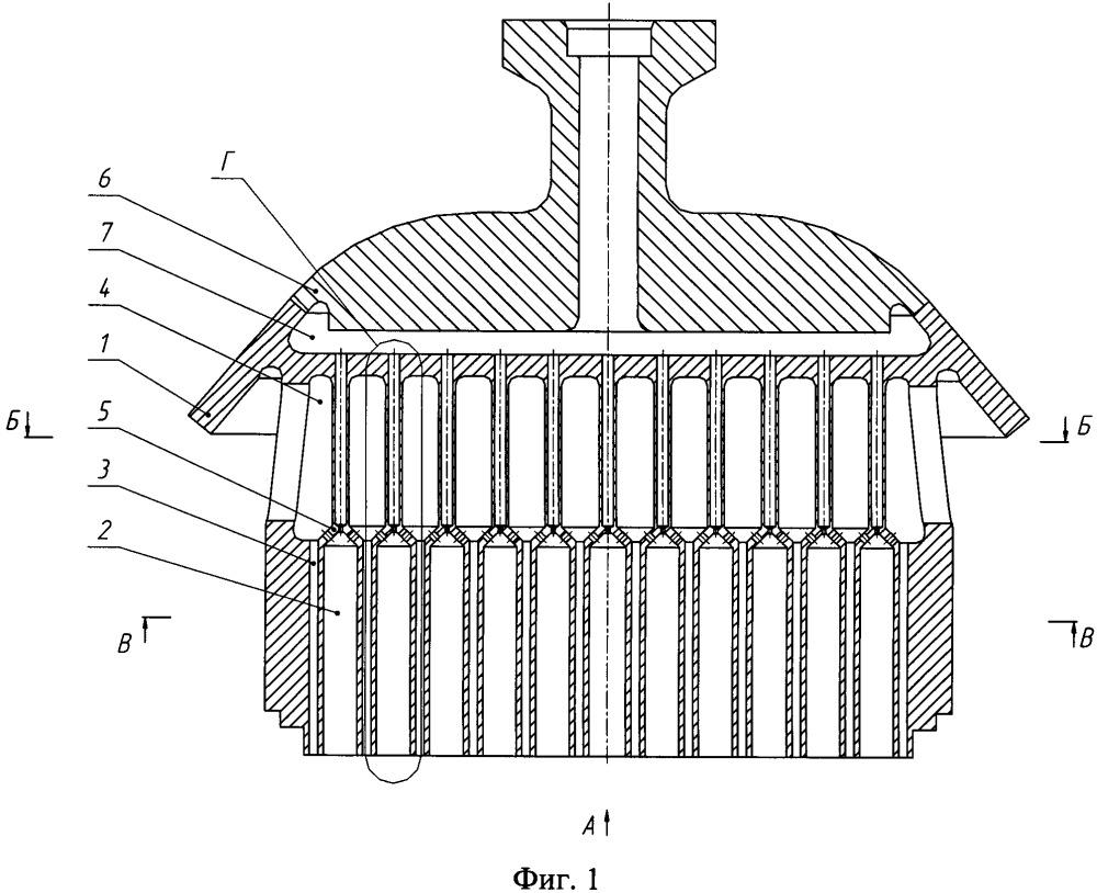 Смесительная головка газогенератора