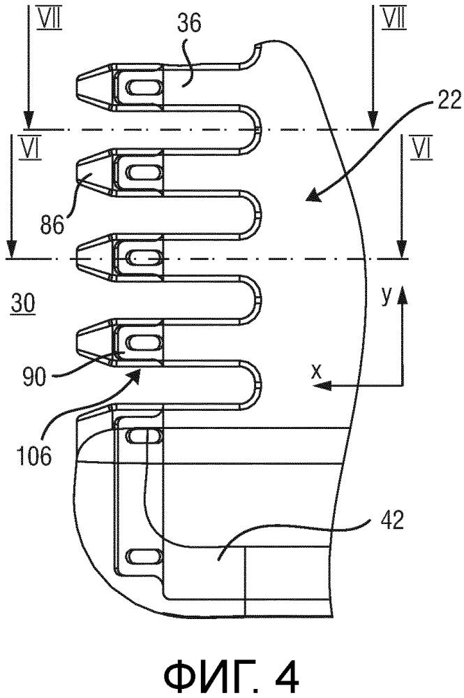Ножевой блок, устройство для срезания волос и соответствующий способ изготовления