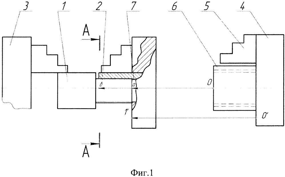 Способ переустановки детали с наружной резьбой в механизированный патрон