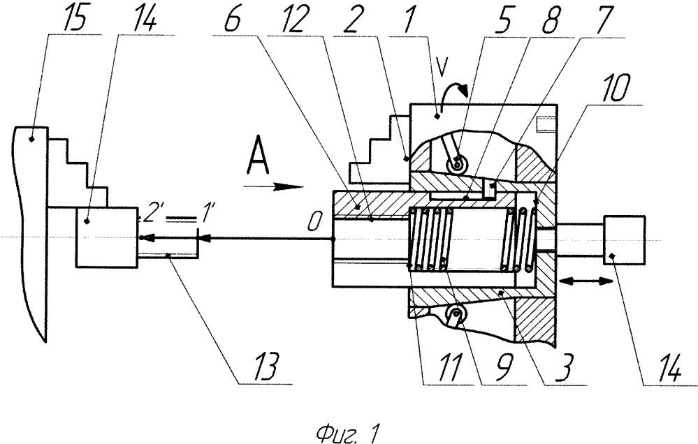 Патрон кулачковый механизированный
