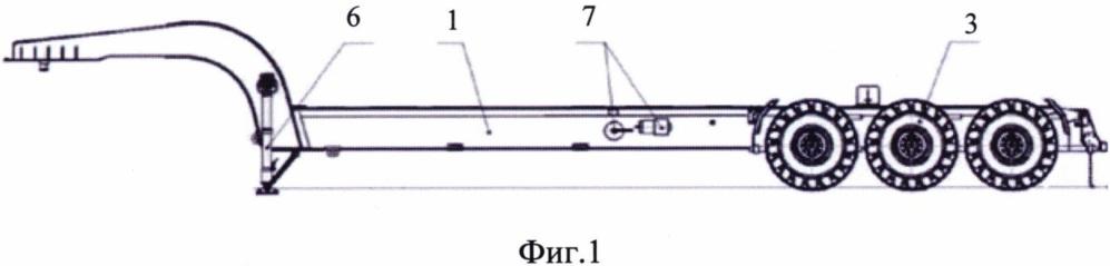 Автомобильный полуприцеп