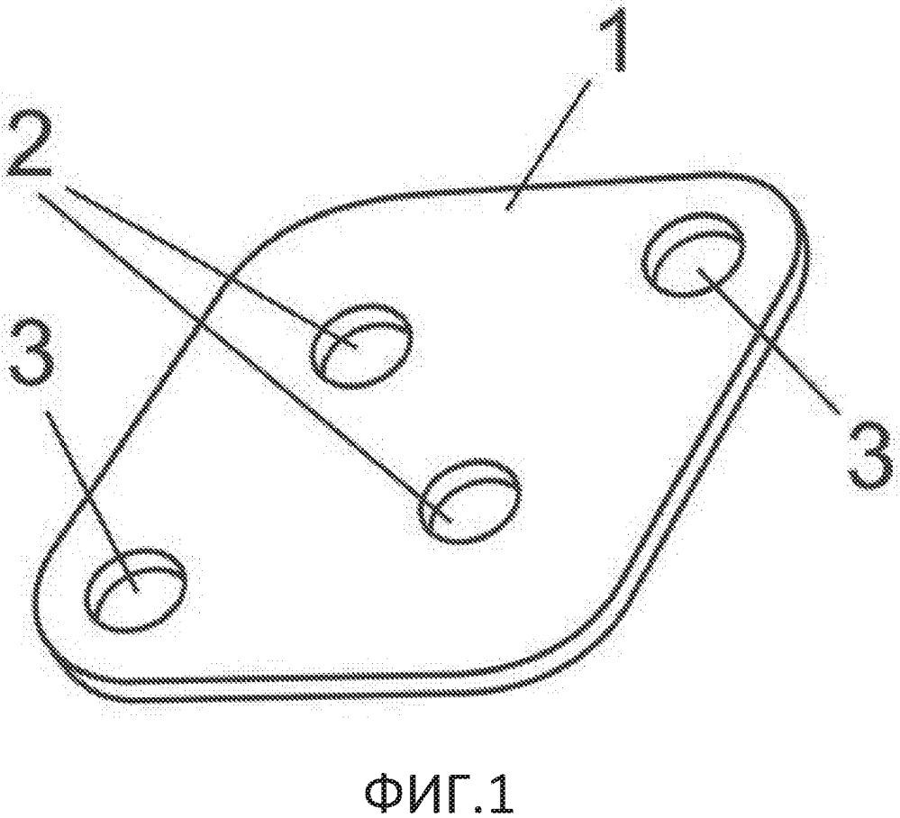 Фиксирующий элемент застежки