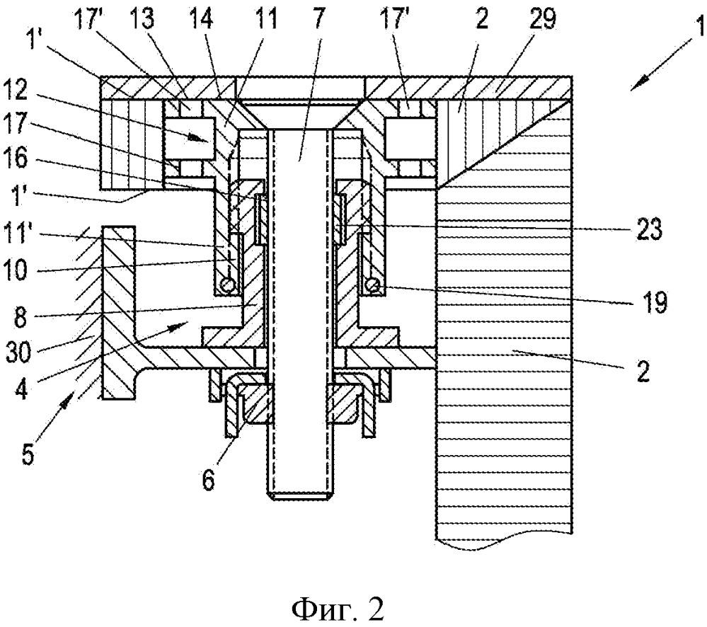 Устройство для соединения структурного элемента с фиксирующим элементом с интервалом друг к другу
