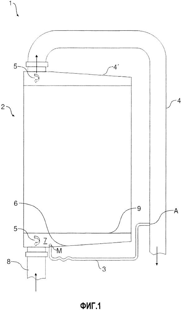Система охлаждения наддувочного воздуха с отсасыванием конденсата и поворотным охладителем наддувочного воздуха