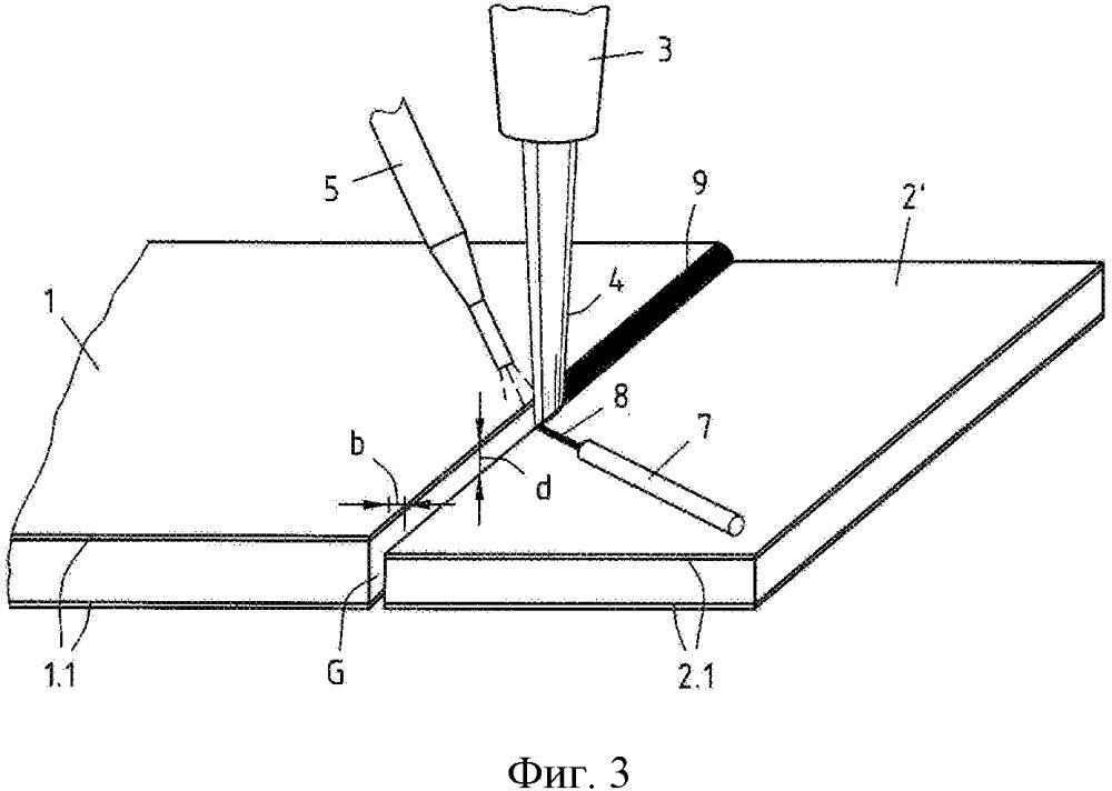 Способ для получения листовой заготовки из закаливаемой стали с покрытием на основе алюминия или алюминия-кремния