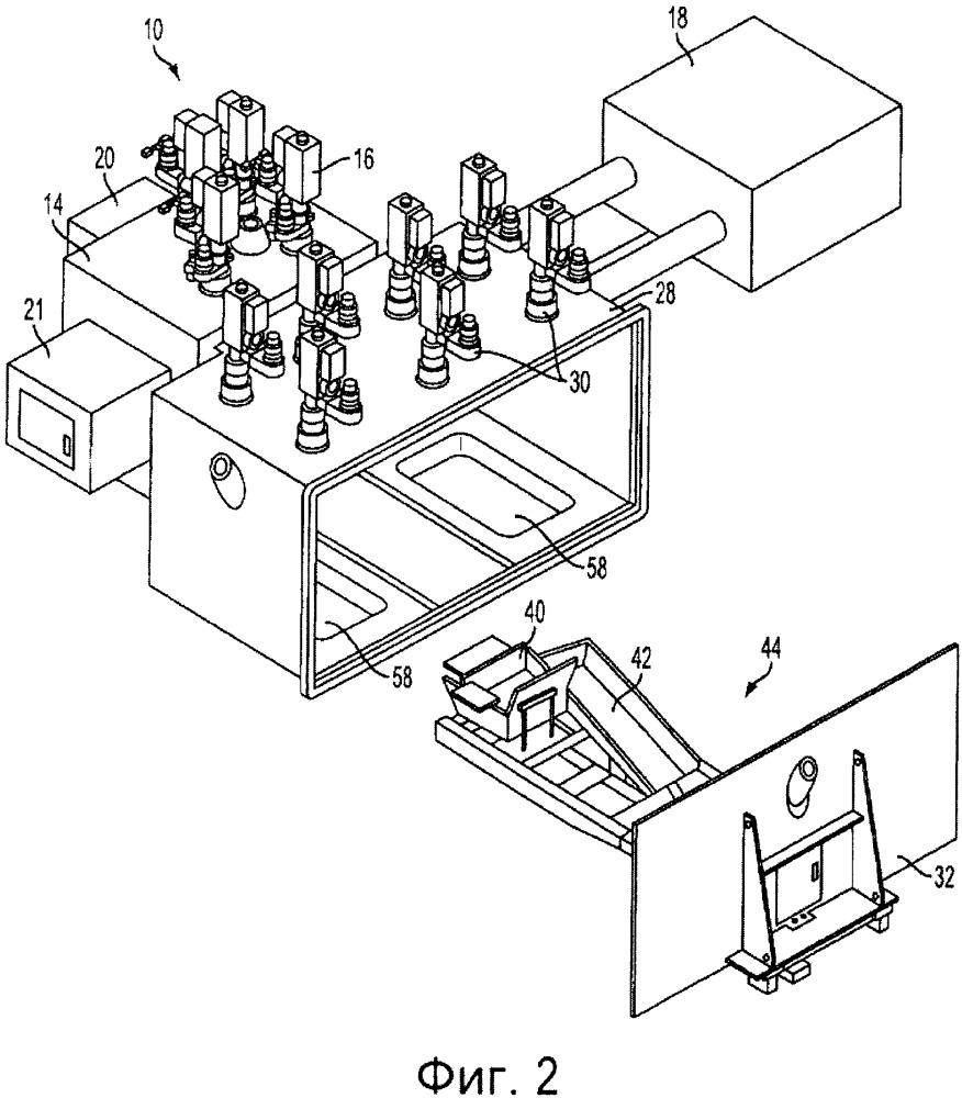 Система разливки с клиновидным подом