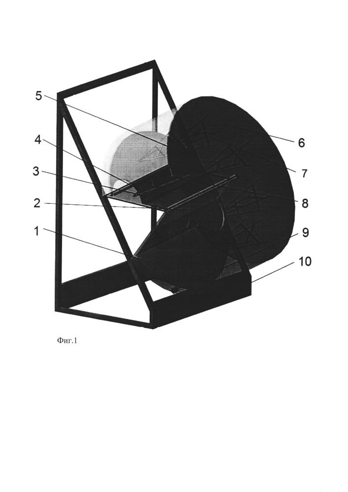 Микроволновая установка с цилиндрическими передвижными резонаторами для отделения волосяного покрова со шкур кроликов при смачивании в рассоле