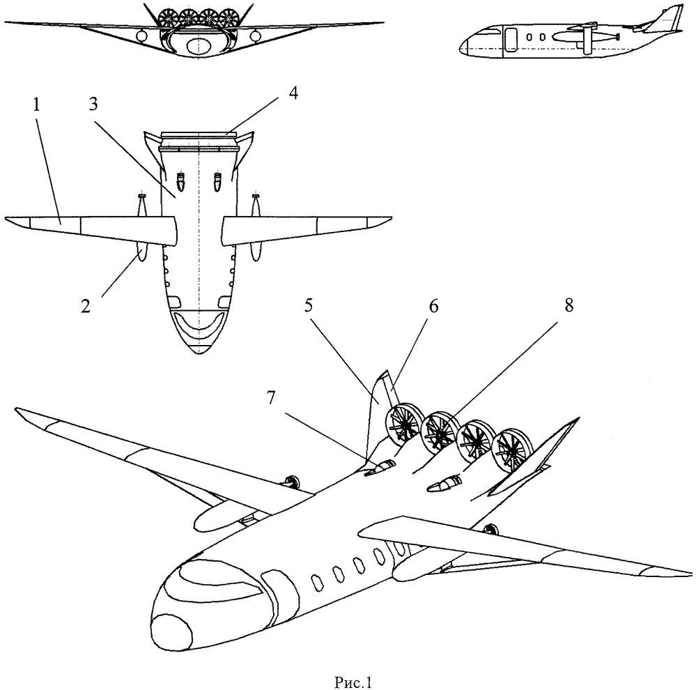 Грузопассажирский самолет местных и региональных линий с расширенными возможностями базирования