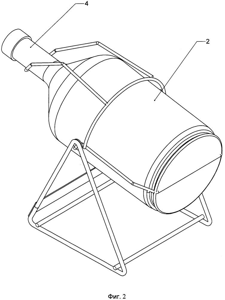 Подставка-качели для розлива жидкого пищевого продукта из бутылки с желобком вокруг нижней части корпуса