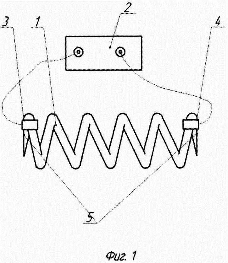 Интегральный электрический способ неразрушающего контроля состояния винтовой цилиндрической пружины и устройство для его осуществления