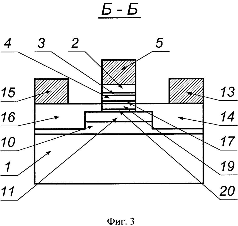 Активный элемент интегрального коммутатора