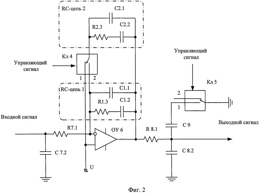 Петлевой фильтр с коммутацией полосы пропускания системы фапч синтезатора частоты (варианты)