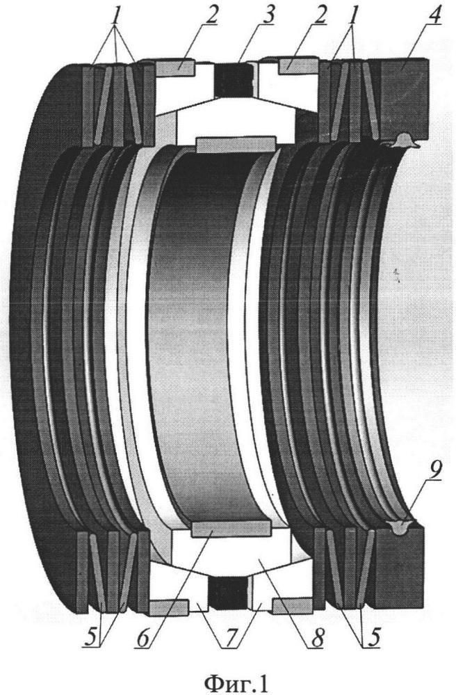 Уплотнительное устройство с автокомпенсацией износа