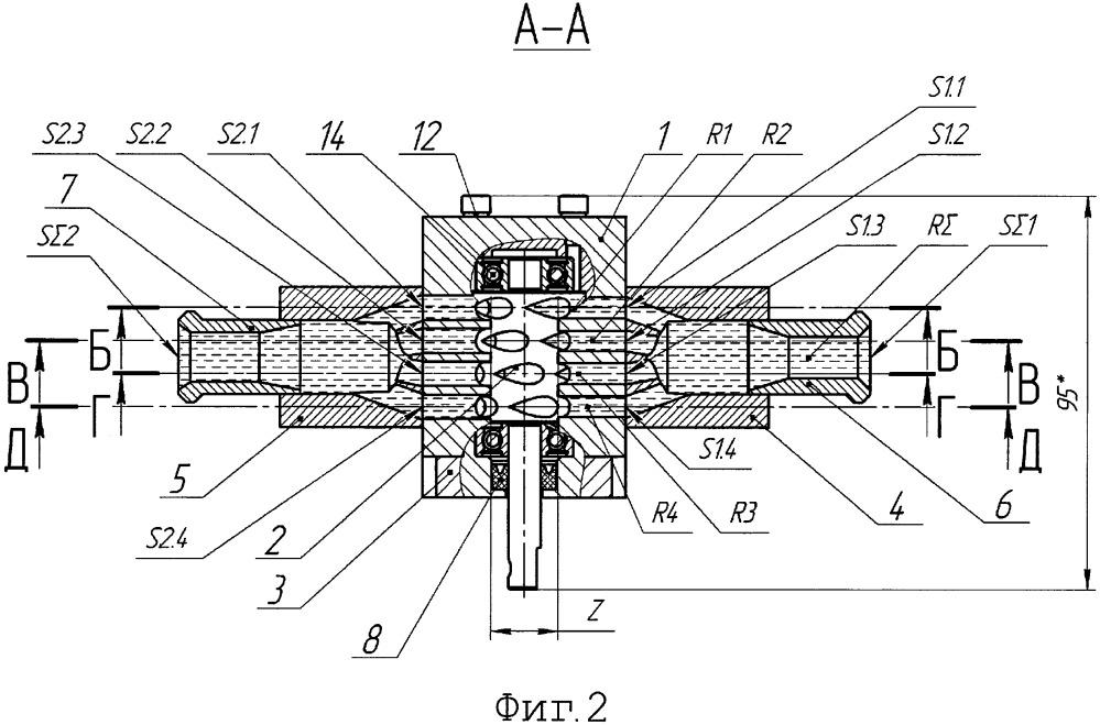 Гидромотор роторный