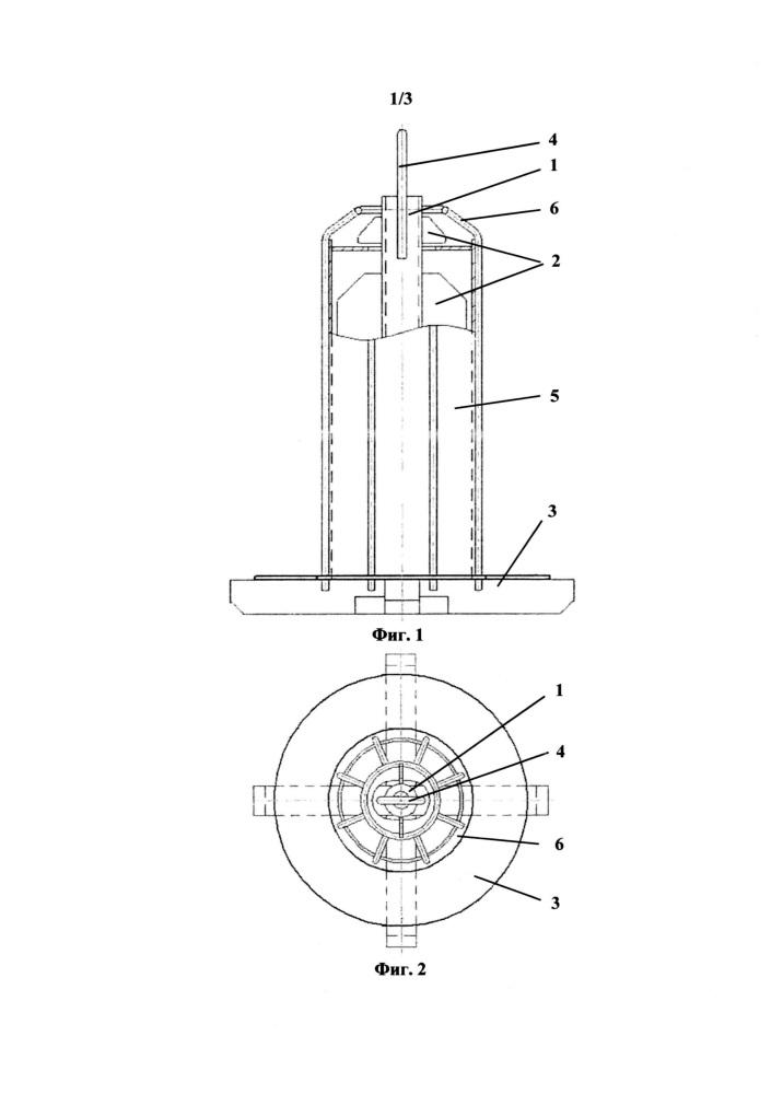 Способ подготовки и устройство для подготовки оснастки для выплавки литых прутковых заготовок из жаропрочных сплавов на никелевой основе