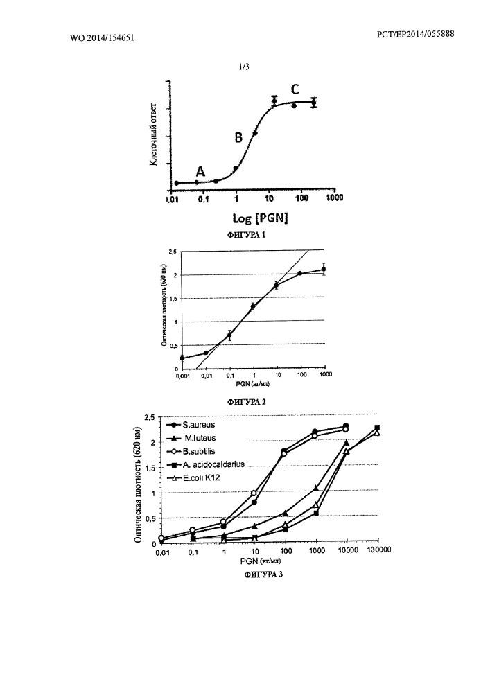 Биологическое количественное определение пептидогликанов