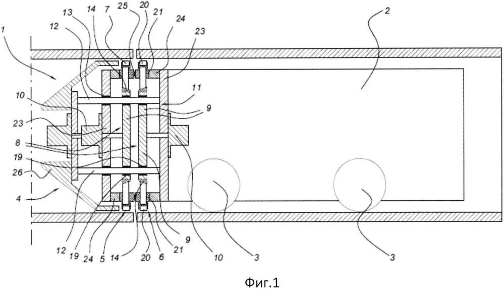 Зажимное устройство для центрирования труб