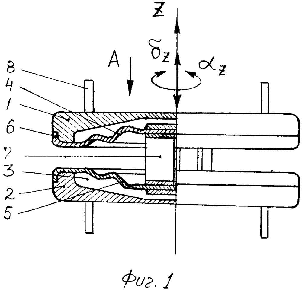 Мембранно-торсионный эндопротез межпозвонкового диска