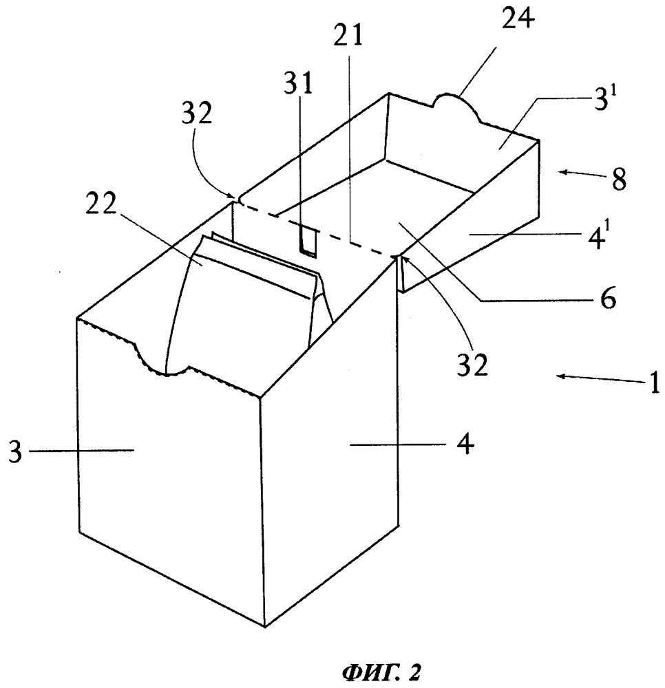 Контейнер с откидной крышкой с повышенной сопротивляемостью к разрыву подвижного соединения