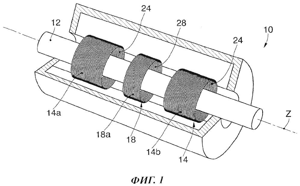 Устройство и способ для горячего измерения размера металлических профилей во время прокатки