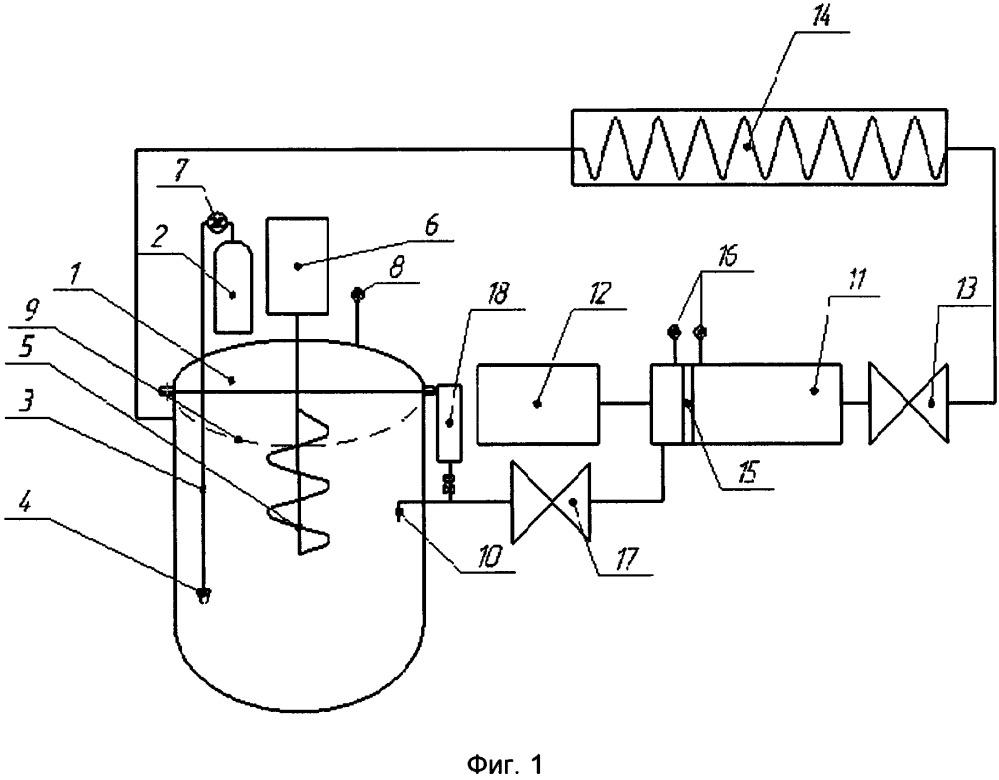 Стенд для моделирования засорения ступеней погружных электроцентробежных насосов