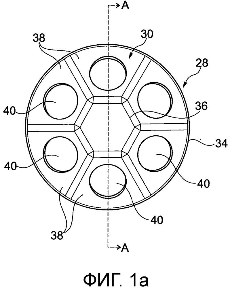 Крепежное устройство для эндоскопического контрольного устройства и способ его применения