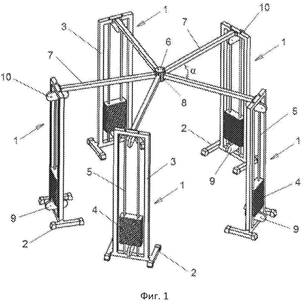 Гимнастически-реабилитационный тренажер