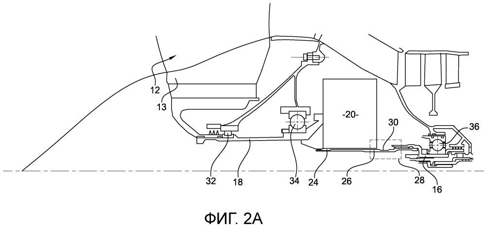 Турбомашина, содержащая средство для отсоединения вентилятора